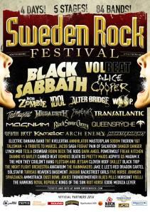 Sweden Rock 14